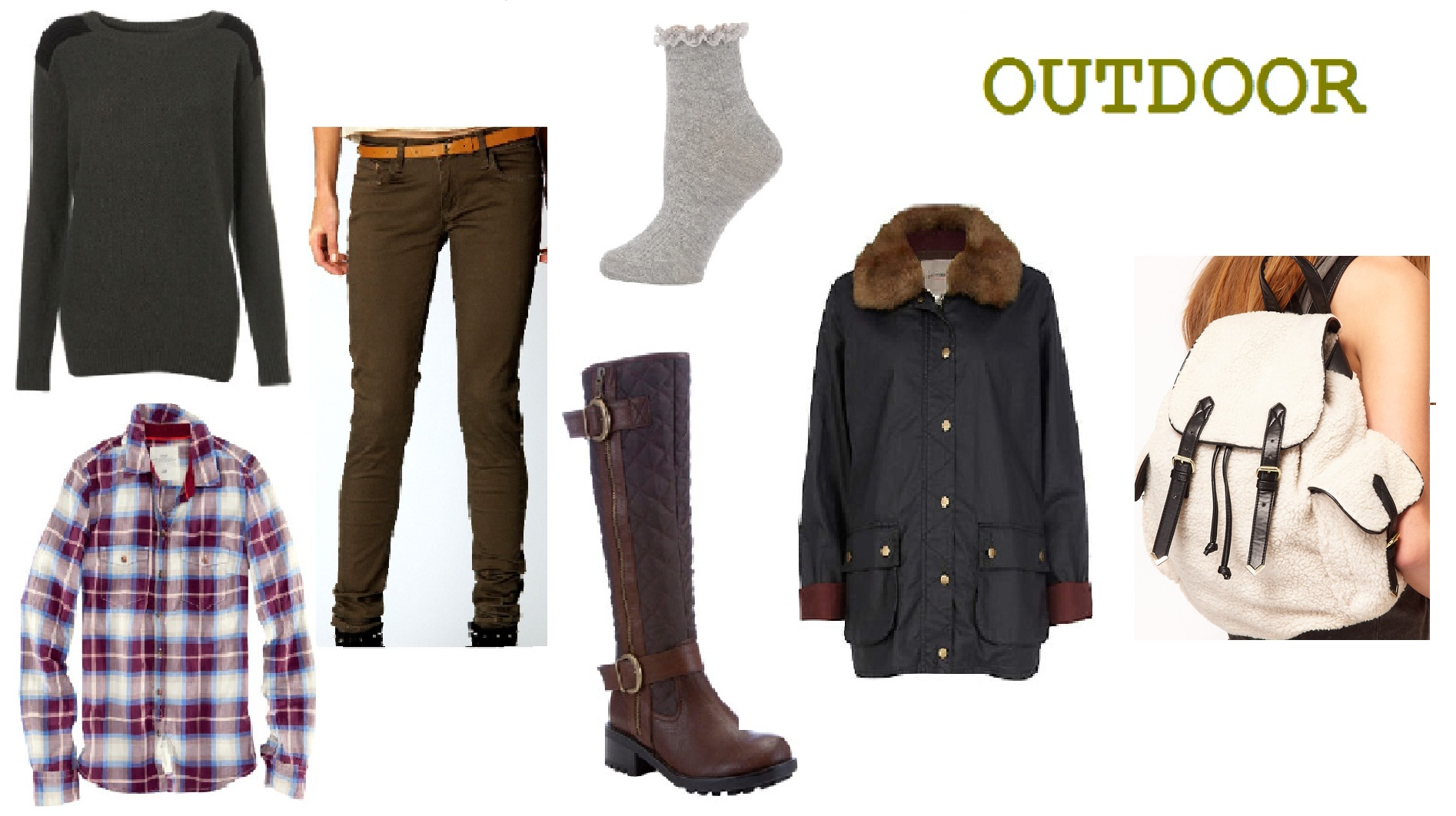 Warm outdoor Look | Women's Outfit | ASOS Fashion Finder