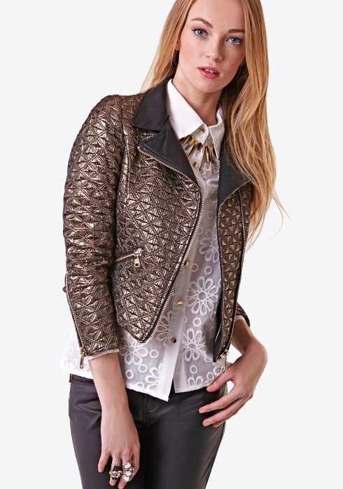 Fashion Union, quilted jacket, was £42 now £23