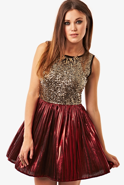 Fashion Union, sequin prom dress, was £30 now £21