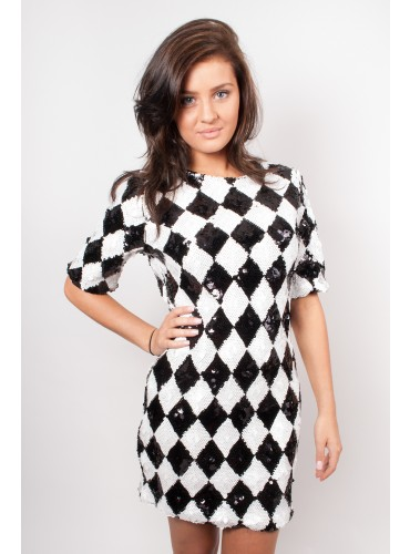Glamorous, harlequin dress, was £59.99 now £30