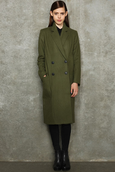Urban Outfitters, Hearts and Hands coat, was £220, now £100