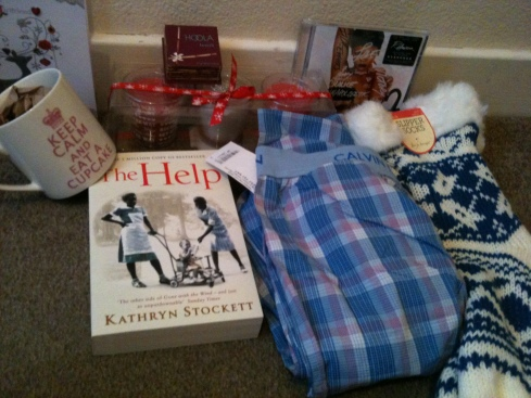 Some of my prezzies :)
