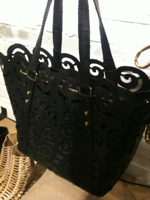 This lazer cut bag is adorbs