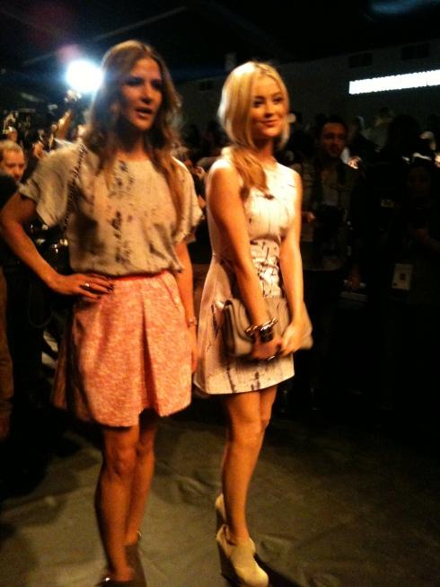 Amanda Byram and Laura Whitmore