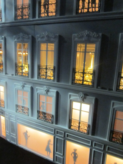 Just a section of the huge Dior Dollhouse