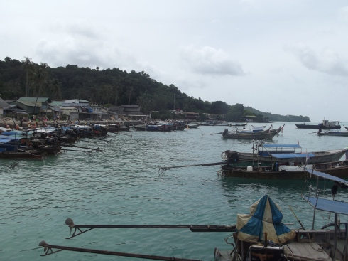 Arriving at Ko Phi Phi
