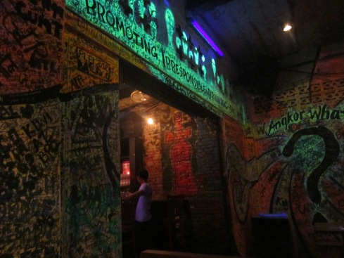 A really cool bar called Angkor Wat?