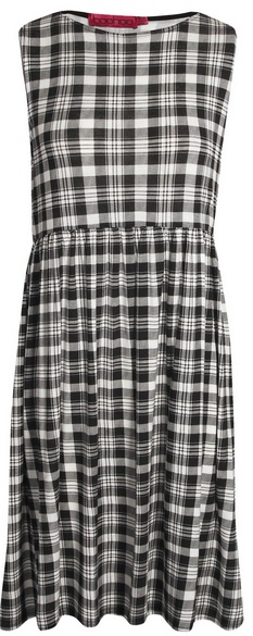 Boohoo Jessica Check Smock Dress 15