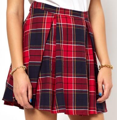 Glamorous Tartan Skirt, £20