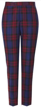 Topshop Checked Trousers, £50