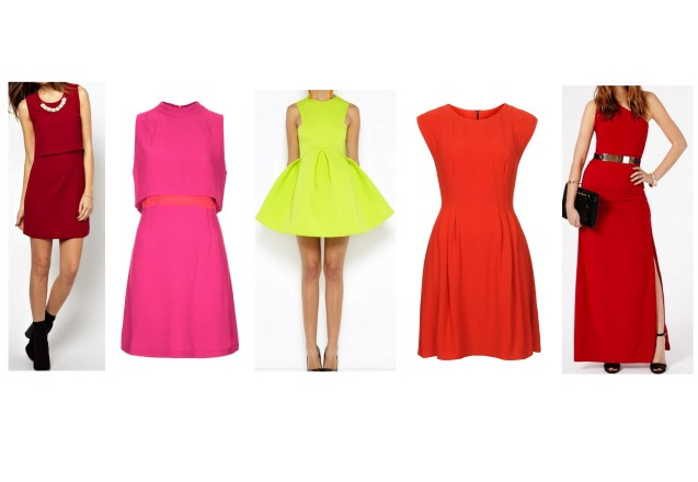 Colour Block Dresses