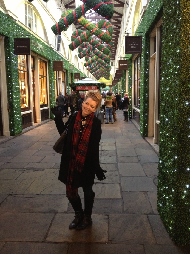I always love Covent Garden at Christmas