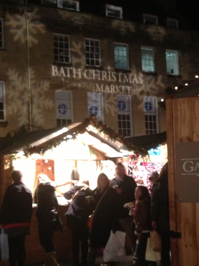 Visiting the Bath Christmas Markets