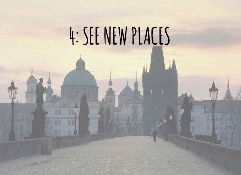 Travel and see new places