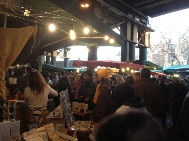 A chilly Borough Market