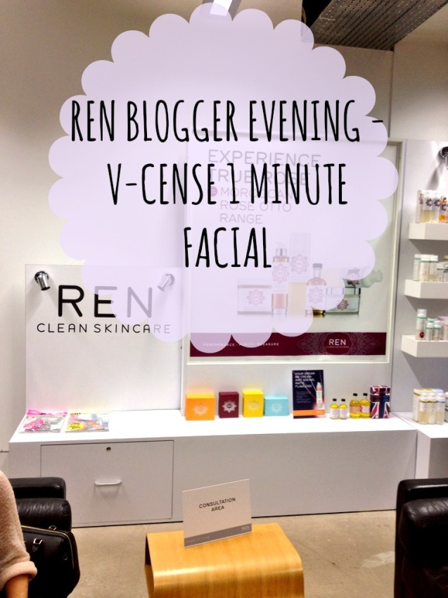 REN blogger evening