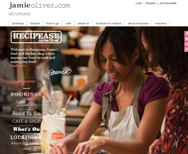 Jamie Oliver Recipease