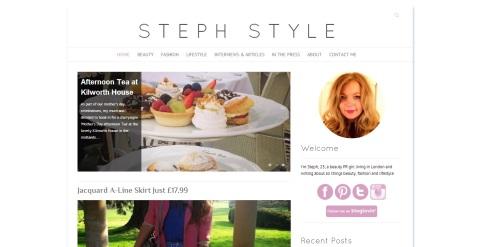 Steph Style blog
